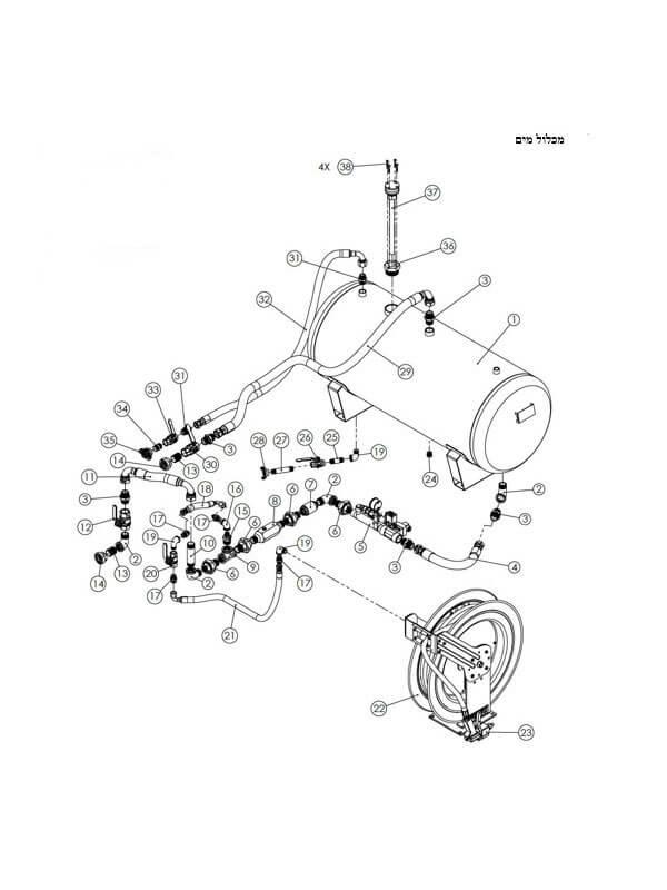 תכנון והנדסה מערכות כיבוי אש