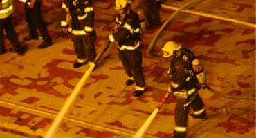 FireAde - כיבוי שריפה בספינת משא