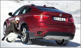 שרשאות לנהיגה בשלג